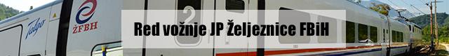 Red vožnje JP Željeznice FBiH